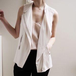 Cream Aritzia Babaton Redford Vest 6
